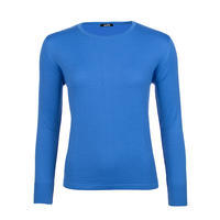Women's wool sweater made of Extra Fine Merino wool - Blue Heaven
