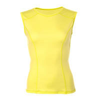 Women's functional undershirt made of Merino wool - yellow