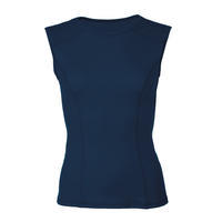 Women's functional undershirt made of Merino wool - dark blue