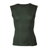 Women's functional undershirt made of Merino wool - green