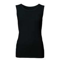 Women's functional undershirt made of Merino wool - black