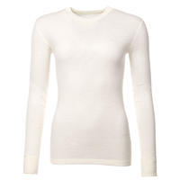 Women's functional T-shirt made of Merino wool - long sleeves - natural