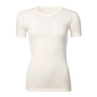 Women's functional T-shirt made of Merino wool - natural