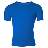 Men's functional T-shirt made of Merino wool - blue