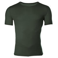 Men's functional T-shirt made of Merino wool - green