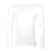 Men's functional T-shirt Merino Wool 195 Long Sleeves White