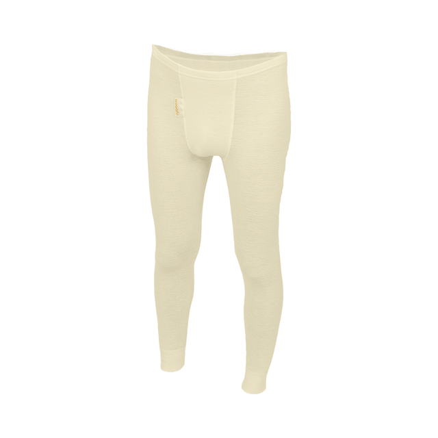 Functional boys' leggings made of Merino wool - natural, 146 - 1