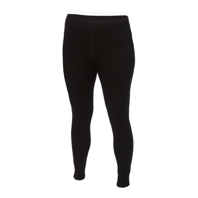 Women's functional leggings made of Merino wool - black, S - 1