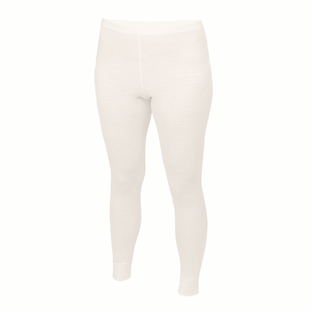 Women's functional leggings made of Merino wool - natural, L - 1