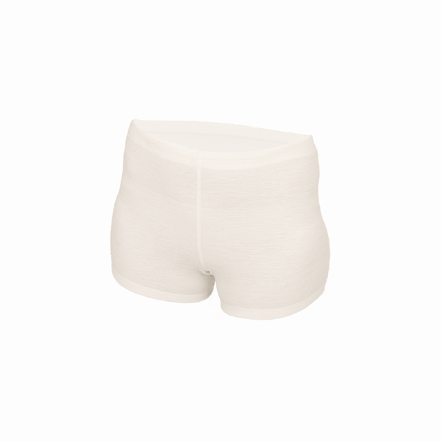 Women's functional boxer shorts s made of Merino wool - natural, L - 1