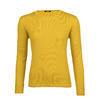 Women's wool sweater made of Extra Fine Merino wool - Woodbine - 1/3