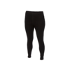 Functional girls' leggings made of Merino wool - black - 1/5