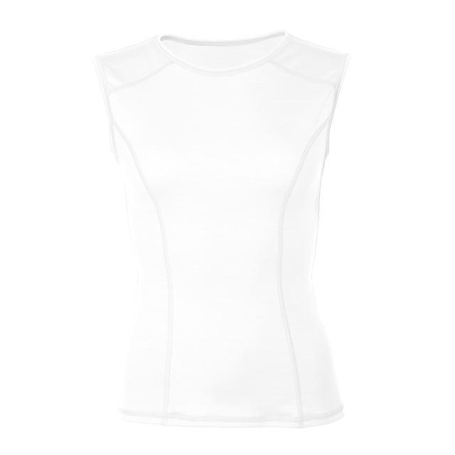 Women's functional undershirt Merino Wool 195 White, L - 1