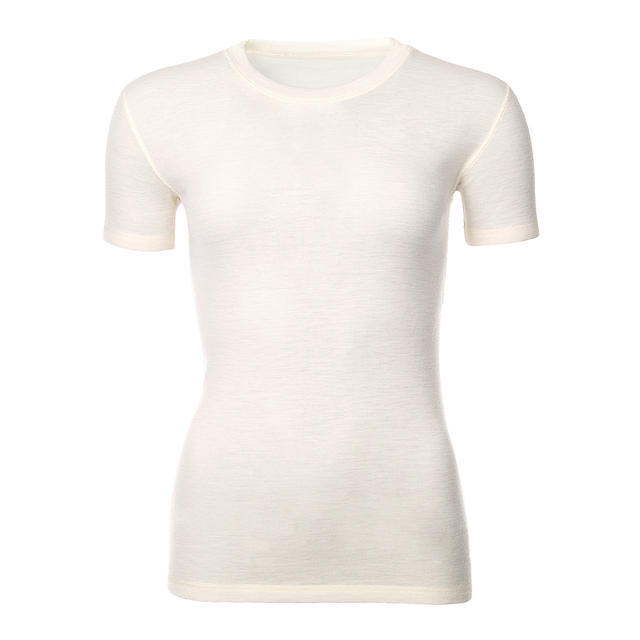 Women's functional T-shirt made of Merino wool - natural - 1
