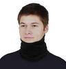 Men's functional balaclava made of Merino wool - black - 1/3