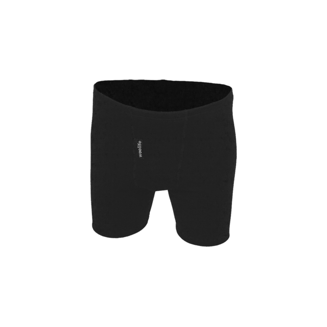 Men's functional boxers made of Merino wool - black, XL - 1