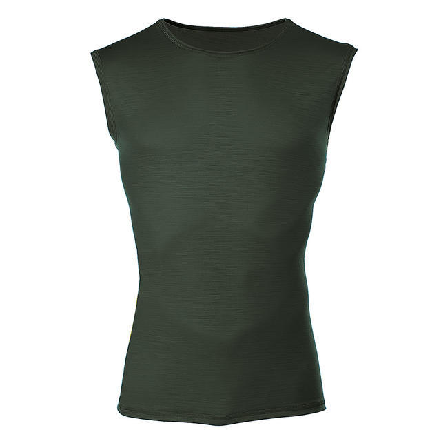 Men's functional undershirt made of Merino wool - green, XXL - 1