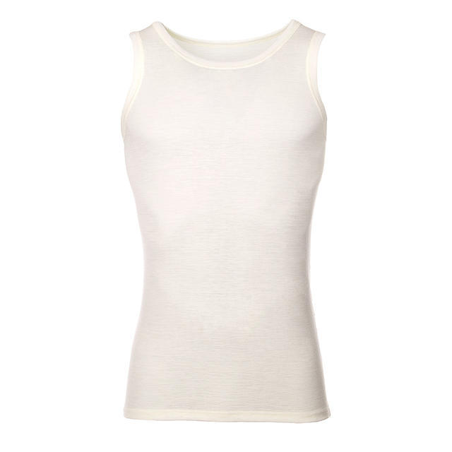 Men's functional undershirt made of Merino wool - natural - 1