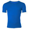 Men's functional T-shirt made of Merino wool - blue - 1/3
