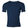 Men's functional T-shirt made of Merino wool - dark blue - 1/3
