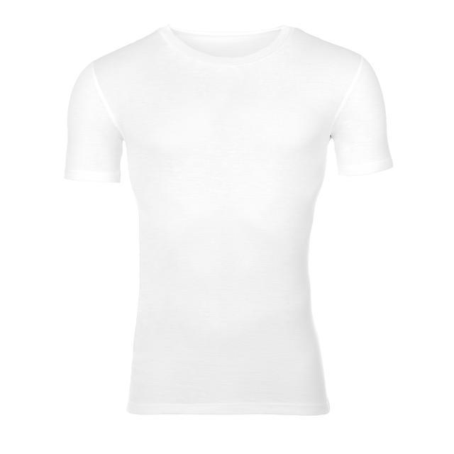 Men's functional T-shirt Merino Wool 195 White, S - 1