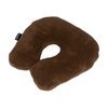 Horseshoe Pillow Merinowool with Camel - 1/2